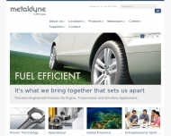Bild Webseite Metaldyne Nürnberg Nürnberg