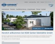 Bild KGW Gerber Edelstähle GmbH