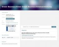 Bild Groen Baumaschinen GmbH