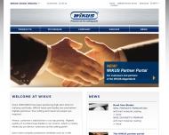 Bild Webseite WIKUS-Sägenfabrik Verwaltung Spangenberg