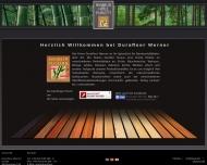 Bild Webseite Durafloor Werner Hamburg