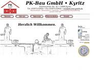 Ihr Bauunternehmen - die PK-Bau GmbH Kyritz