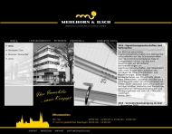 Bild Webseite MEHLHORN & ILSCH Immobilienverwaltungen Halle