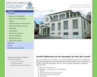 Bild Roos Geo Consult GmbH