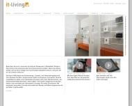 Bild Webseite IT-Living Düsseldorf