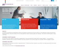 Bild Webseite Schindhelm Rechtsanwaltsgesellschaft Osnabrück