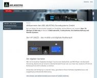 Bild Webseite  Freilassing