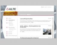 Bild Webseite KWA Verwaltung Plettenberg