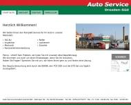 Bild Webseite Auto Service Dresden-Süd Dresden