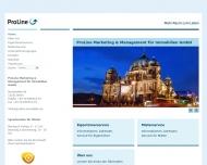 Bild Webseite progima Gebäude- und Immobilienmanagement Berlin