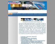 Bild Webseite ECOTIP Köln