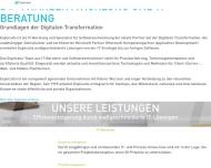Bild Webseite Explicatis Köln