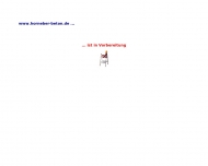 Website E. G. Horneber Betonwerk
