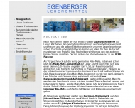 Egenberger Lebensmittel GmbH - Neuigkeiten