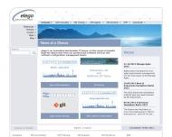 Bild Webseite elego Software Solutions Berlin