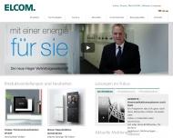 Bild Webseite ELCOM Heilbronn