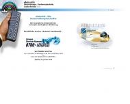Bild Webseite elakustik Beschallung , Konferenztechnik-, Audio-Service Berlin
