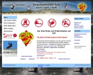 Website Drachenhöhle Sylt Inh. Wolfgang Jörgensen