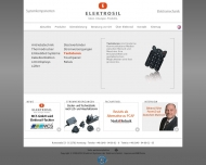 Bild Webseite Elektrosil Systeme der Elektronik Hamburg