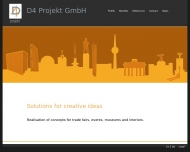 Bild Webseite D4 Projekt Berlin