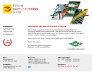 Bild Elektro Raimund Pfeiffer GmbH