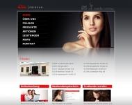 Bild Webseite Elite Friseur und Kosmetik Dresden