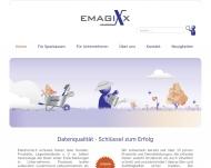 Bild Webseite emagixx Hamburg