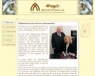 Bild Webseite Engel BESTATTUNGEN Berlin
