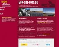 Bild Webseite EC Public Relations Düsseldorf
