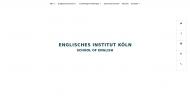 Bild Englisches Institut Köln SCHOOL OF ENGLISH GmbH & Co. KG