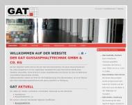 Bild GAT Gussasphalttechnik GmbH & Co. KG