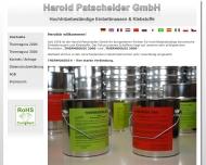 Bild Webseite Harold Patscheider Wuppertal