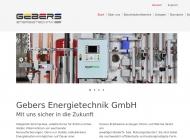 Bild Gebers Energietechnik GmbH