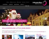 Bild Webseite Little John Bikes Oberhausen Mitte Oberhausen