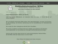 Bild Webseite GebäudeAutomation Wilke Berlin