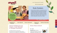 Bild Webseite Organix Biomarkt Stuttgart