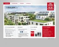 Bild Webseite Optima Bauträger München
