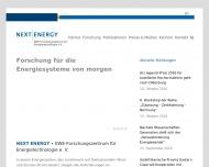 Bild NEXT ENERGY - EWE-Forschungszentrum für Energietechnologie e. V.