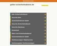 Bild GELLER Sicherheitsdienst GmbH