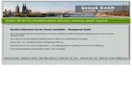 Bild Webseite Gemak Immobilien-Management Köln