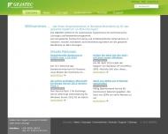 Bild Webseite GEJATEC Gerd Jastrow EDV Vertriebsgesellschaft Kyritz