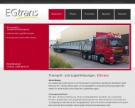 Bild EGTRANS Speditions-u. Logistik GmbH