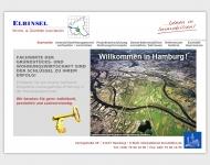 Bild Webseite Elbinsel-Immobilien Hamburg