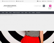 Bild Webseite Joachim Bosse Internationale Moden-Style Cote d' Azur Hamburg
