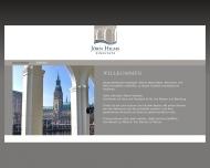 Bild Webseite Jörn Hilms Immobilien Hamburg