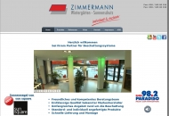 Bild Webseite Jörg Zimmermann Wintergärten-Sonnenschutz Berlin