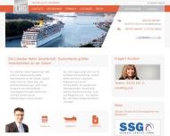 Bild Webseite Lübecker Hafen Gesellschaft Lübeck