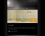 Bild Webseite Lumoplan Berlin