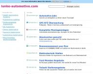 Bild Webseite Lunke Automotive Dortmund