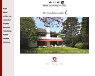 Bild Webseite Mahlau Immobilien & Grundbesitz Duisburg